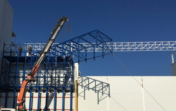 Estructura modular Industria alimentaria