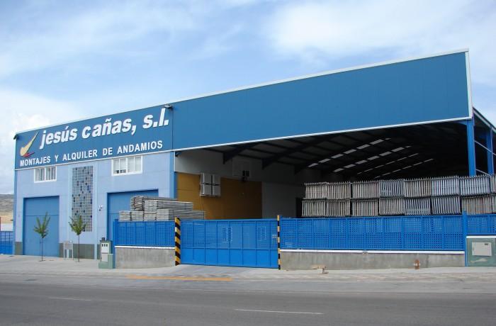 Nave industrial – Jesús Cañas