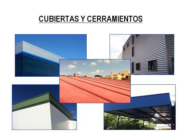 MENU PRODUCTOS CUBIERTAS Y CERRAMIENTOS